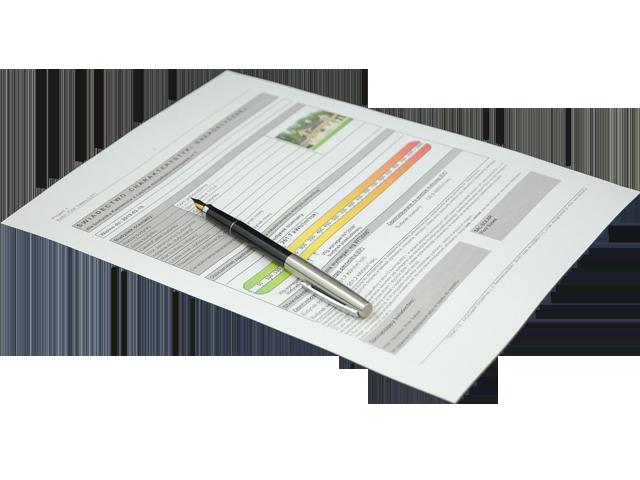 Te ofrecemos un servicio de certificado energético