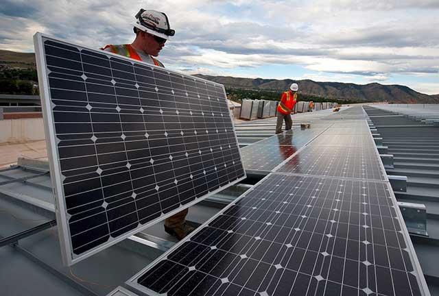 instalación fotovoltaica para empresa