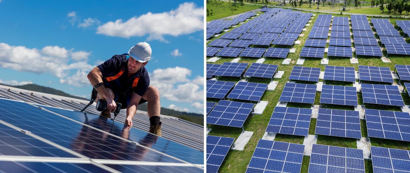 Producir energía verde con huertos solares